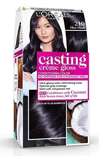 L'Oréal Paris Casting Crème Gloss Coloration Ton Sur Ton Sans Ammoniaque 2.10 Myrtille Noire Lot de 2