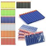 GaDa Nachfüllpack Refill Darts 2.84in / 7.2cm Größe - kompatibel für Nerf N-Strike Elite-Serie (100, blau)