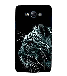 printtech Nature Abstract Leopard Back Case Cover for Samsung Galaxy J2 / Samsung Galaxy J2 J200F