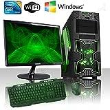 PC DESKTOP GAMING INTEL QUAD CORE WIFI/HD 1TB SATA III/RAM 8GB 1600MHZ/HDMI-DVI-VGA/USB 2.0 3.0 SD CARD/MONITOR 22 LED HD SAMSUNG VGA ATTACCO VESA/TASTIERA E MOUSE GAMING PC FISSO COMPLETO PRONTO ALL'USO GIOCHI