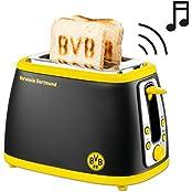 Borussia Dortmund 12700500, BVB 12700500 Toaster mit Sound