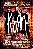 KORN - 2005 - Konzertplakat - Lacuna Coil - Opeth - Tourposter - PL
