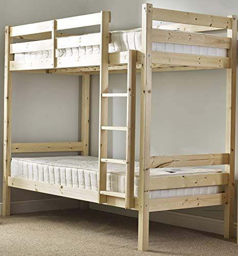 c4c9106f3e6e Heavy Duty Bunk Bed - 2ft 6 small single solid pine bunk bed - Can be