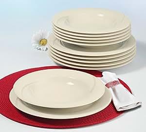 Seltmann weiden orlando cream service de table 12 pià¨ces