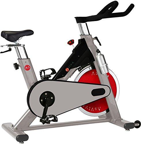AsVIVA S8 Indoor Cycle Cardio VIII - ein Fitnessbike und Heimtrainer/Fitnessgerät für das Workout inkl. Getränkehalter - das Fitnessrad/Speedbike