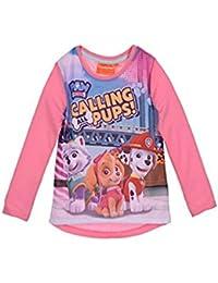 Camiseta manga larga patrulla canina rosa 4 años