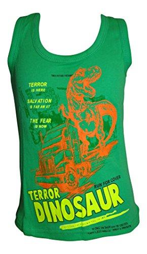 Jungen Achselshirt T-Shirt Kinder Shirt 3-4/110-116 / grün