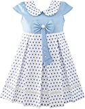 Best Richie House Dress For Kids - JT37 Girls Dress Polka Dot School Bow Tie Review