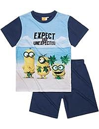 Minions Despicable Me Chicos Pijama mangas cortas 2016 Collection - blue denim