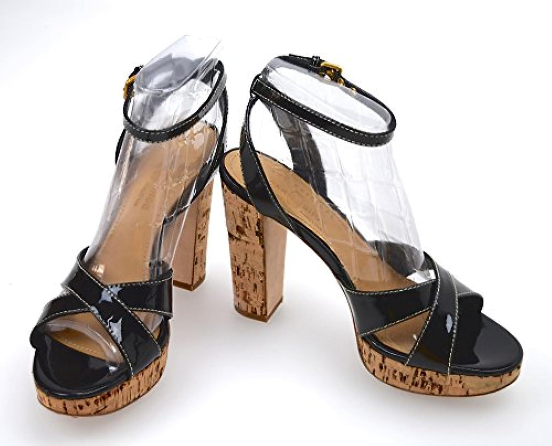 CAR scarpe SCARPA SANDALO DONNA VERNICE E SUGHERO NERO ART. KDX15A 36,5 NERO | Vendendo Bene In Tutto Il Mondo  | Uomini/Donna Scarpa