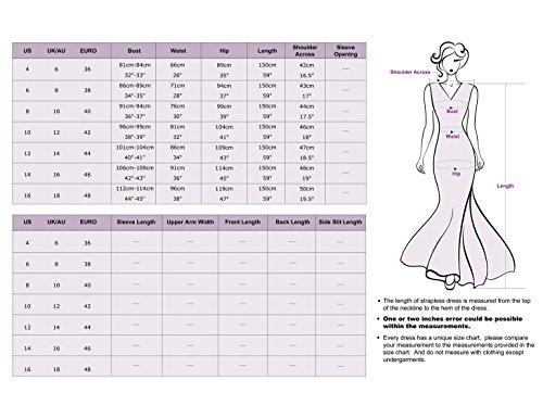 Ever Pretty Robe de soiree Maxi sans manche elegante 08441 Violet