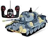 S-idee 01197 - Veicolo radiocomandato, Carro armato pesante German Tiger I, scala 1:72 - s-idee® - amazon.it