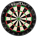 Kings Dart Bristle-Dartscheibe | Club | Sisal | ø 44,5 cm