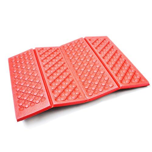 AceCamp Faltbares leichtes Thermo Sitzkissen Iso-Sitzmatte wasserdicht isolierend, 40 x 30 x 1 cm, 3940