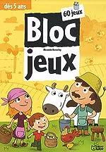 Bloc Jeux à la ferme - Dès 5 ans de Alexandre Bonnefoy