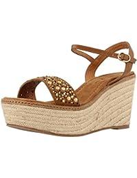 Sandalias y Chanclas para Mujer, Color marrón, Marca ALMA EN PENA, Modelo Sandalias