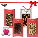 Belgium Chocolates Sinfull Treat Of Almond And Nutties Chocolate Bars With Cute Teddy