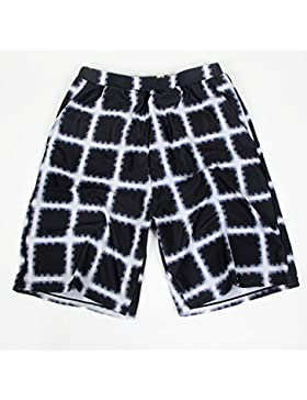 HAIYOUVK Men'S Swim Shorts Square Simple Tie Boxer Five-Point Loafers Hot Spring Beach,Men'S 2Xl (145-180 Kg Recommended...