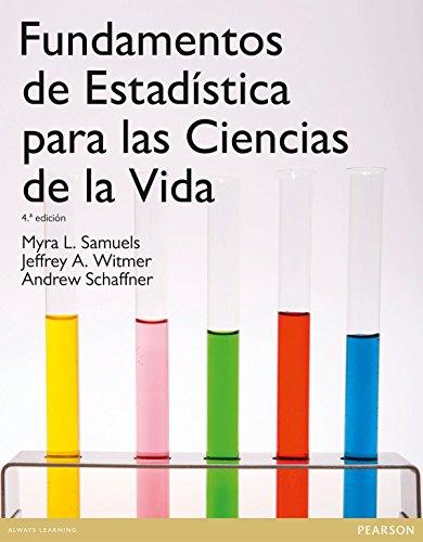 Fundamentos de estadística para las ciencias de la vida