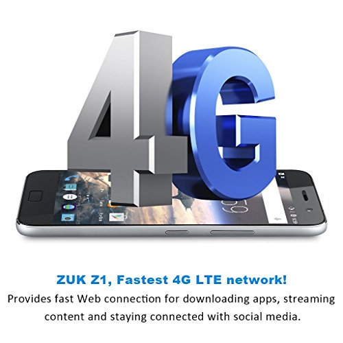 ZUK Z1 Smartphone 5 5   Procesador Quad-Core de 2 5 GHz  c  mara de 13 MP  Android 5 1 1 Marshmallow