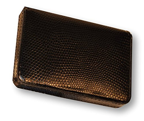 budd-leather-company-lizard-printed-leather-business-card-case-black-552282l-1-by-budd-leather