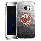 DeinDesign Samsung Galaxy S7 Silikon Hülle Case Schutzhülle Eintracht Frankfurt Fanartikel Sge