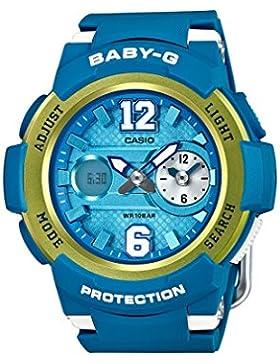 Casio Damen-Armbanduhr Baby-G Analog - Digital Quarz Resin BGA-210-2BER
