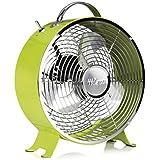 Tristar Ventilator Durchmesser 25 cm - 2 einstellbare Leistungsstufen, 1 Stück, grün, VE-5965