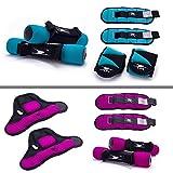 Crane Fitnessgewichte Set mit Handgelenks- Knöchel und...