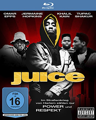 Juice (mit Rapper-Legende Tupac Shakur) [Blu-ray]