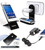 Riona Mobile Holder/Stand/Hanger MHWS + Desk Stand + Cable Organizer + Scratc... MH-WSB-C best price on Amazon @ Rs. 325
