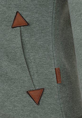 Naketano Female Zipped Jacket Family Biz Leaf Green Melange
