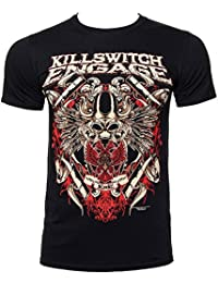 KILLSWITCH ENGAGE - BIOWAR - OFFICIAL MENS T SHIRT