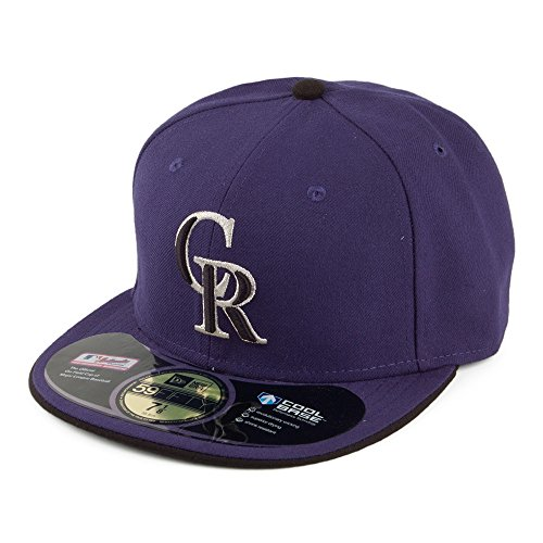 Casquette 59FIFTY on Field Alt 2 Colorado Rockies Violet New Era - 7 1/4