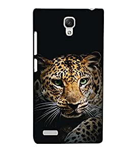 Fuson Designer Back Case Cover for Xiaomi Redmi Note :: Xiaomi Redmi Note 4G :: Xiaomi Redmi Note Prime (The tiger theme)