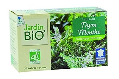 Jardin Bio Infusion Thym Menthe 30 g