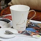 OYBB Tasse/Kaffee/Tee/Latte/Heißgetränk-Schokoladen-Keramik-Becher für Männer/Frauen-038