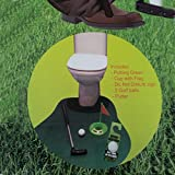 New Toilet Time Game Golf Practice Bathroom Game Gift