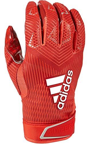 adidas Adizero 5-Star 8.0 American Football Receiver Handschuhe Design 2019 - rot Gr. L