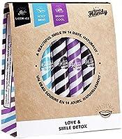Merci Handy - Cure Naturelle Smile Detox Mix, 3 goûts : cassis, menthe et réglisse | Fabriquée En France