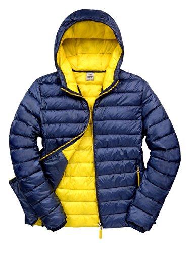 Result: Snow Bird Hooded Jacket R194M Navy/Yellow