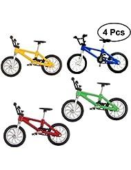 Yeahibaby 4Open Buy 1: 18Miniature Doigt Vélo de montagne modèle de jouet Mini alliage créative jouets de vélo pour enfants Enfants Enfants
