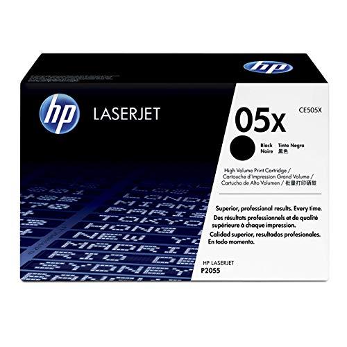 HP 05XL - Cartucho de tóner Original HP 05X de álta capacidad Negro para HP LaserJet P2035 , P2055