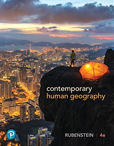 Contemporary Human Geography (What's New in Geosciences)