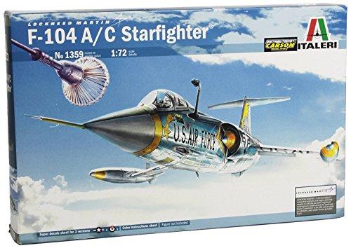 Italeri 510001359 - 1:72 F-104 A/C Starfighter