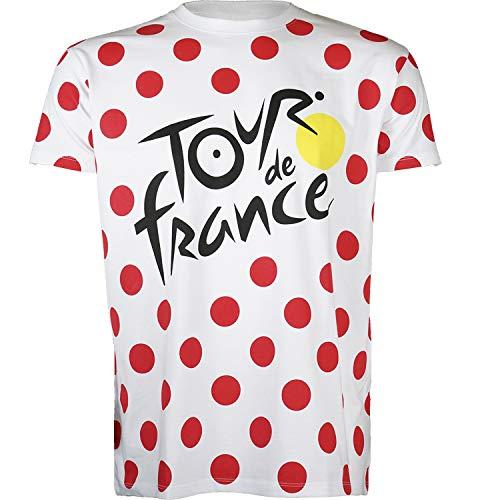 Tour de France T-Shirt - Grimpeur de Cyclisme -...