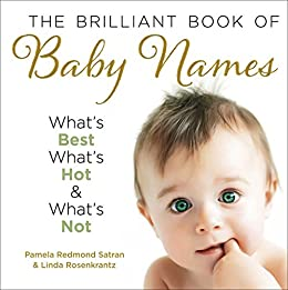 The Brilliant Book of Baby Names: What's best, what's hot and what's not by [Satran, Pamela Redmond, Linda Rosenkrantz]