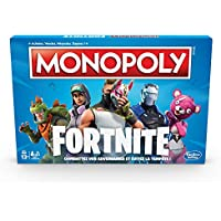 monopoly jeu de societe monopoly fortnite jeu de plateau version francaise - deguisement fortnite jouet club