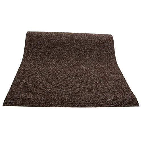 Primaflor - Ideen in Textil Sauberlauf PICOLLO Braun 1,00m x 2,50m Rutschfester Teppichläufer...