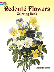 Redoute Roses Colouring Book (Dover Nature Coloring Book)
